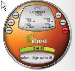iBurst Dashboard