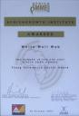 White Wall Web wins award