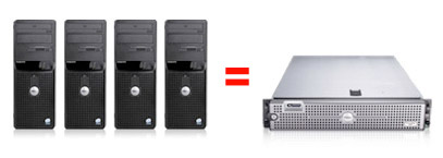 Virtualisation of dedicated servers